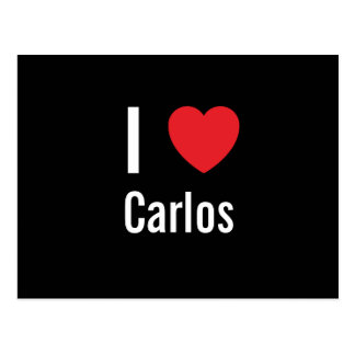 I love Carlos Post Cards
