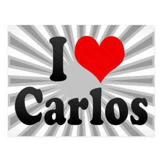 I love Carlos Postcard