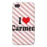 I love Carmen iPhone 4/4S Covers