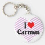 I love Carmen Keychains