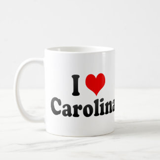 I Love Carolina, Puerto Rico Coffee Mug