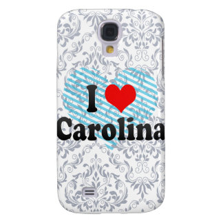 I Love Carolina, Puerto Rico Galaxy S4 Case