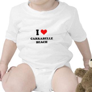 I Love Carrabelle Beach Tshirts