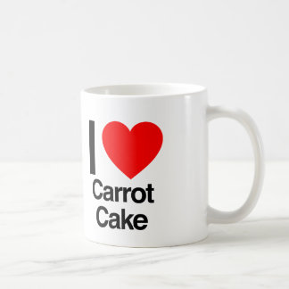 i love carrot cake coffee mug
