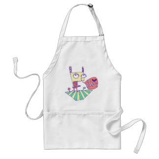 I love carrots collection standard apron