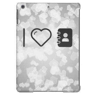 I Love Carrying Notebooks Cover For iPad Air