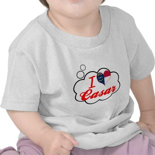 I Love Casar, North Carolina T-shirts