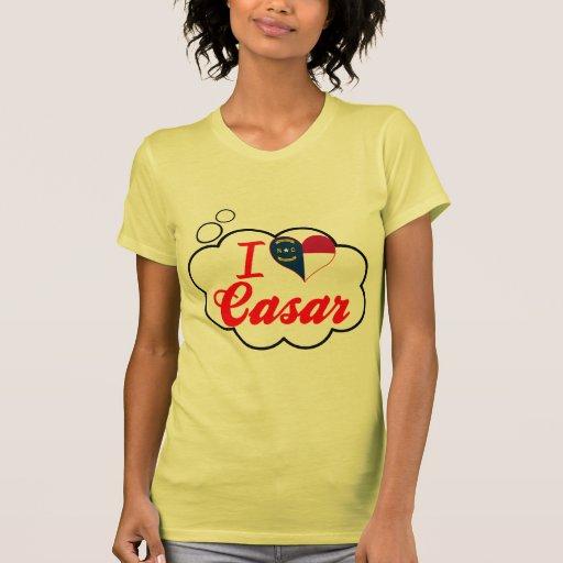 I Love Casar, North Carolina Tee Shirts