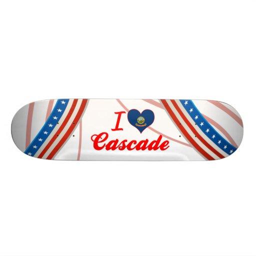 I Love Cascade, Idaho Skateboard