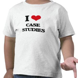 I love Case Studies T-shirt