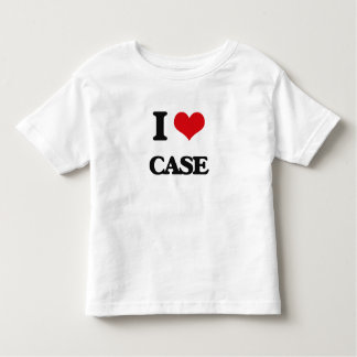 I Love Case Tees
