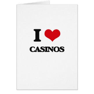 I love Casinos Card