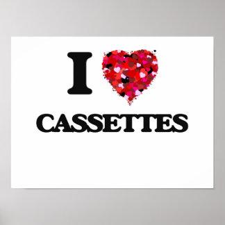 I love Cassettes Poster