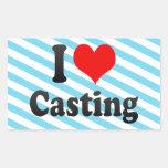 I love Casting Stickers