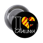 I Love Catalunya Pin's