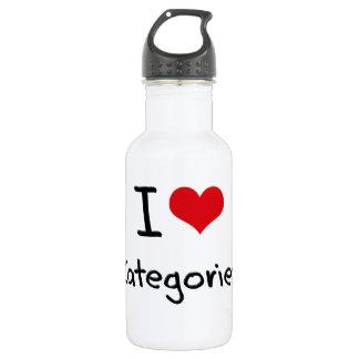 I love Categories 532 Ml Water Bottle