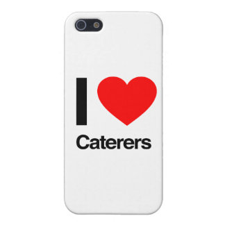 i love caterers iPhone 5/5S cases