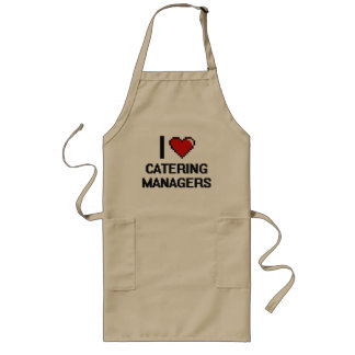 I love Catering Managers Long Apron