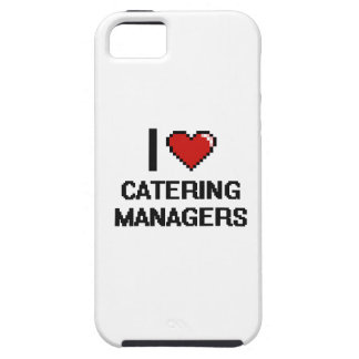 I love Catering Managers Case For The iPhone 5