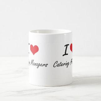 I love Catering Managers Basic White Mug