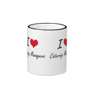 I love Catering Managers Ringer Mug