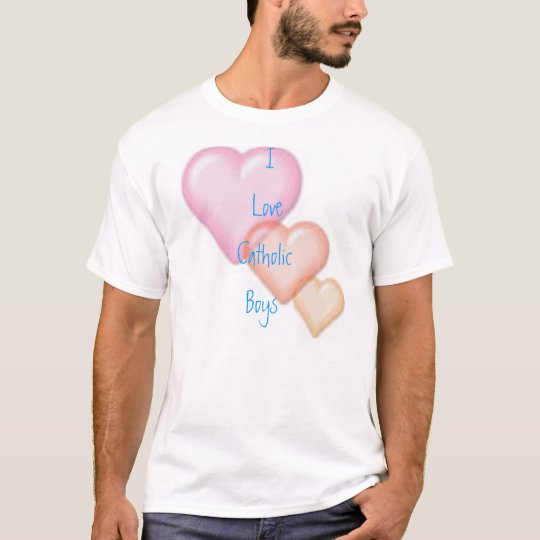 I love Catholic Boys T-Shirt