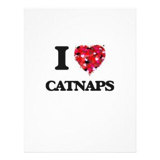 I love Catnaps 21.5 Cm X 28 Cm Flyer