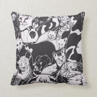 I love cats cushion
