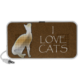 I LOVE CATS DOODLE SPEAKER