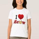 """I Love Cats"" - I Heart Cats T Shirt Kids"