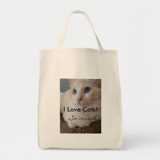 I Love Cats So Much Tote Bag