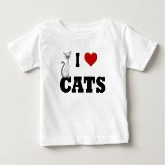 I love Cats Tee Shirts