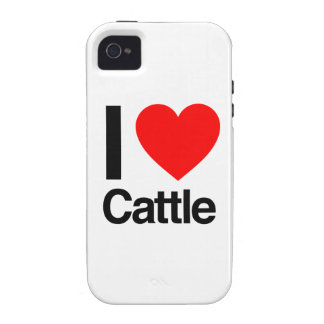 i love cattle iPhone 4/4S cases