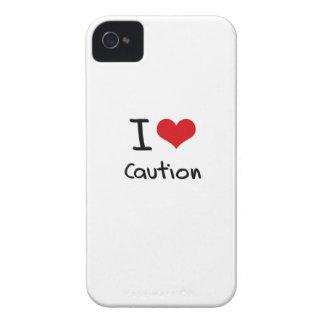 I love Caution Case-Mate iPhone 4 Case