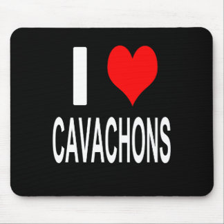 I Love Cavachons Mousepad