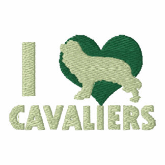 I Love Cavaliers Embroidered Shirt (T-Shirt)