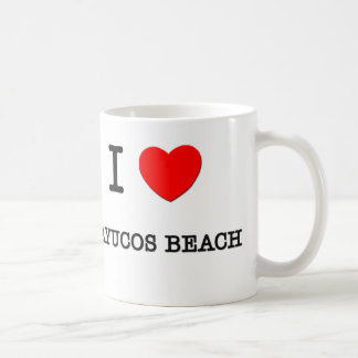 I Love Cayucos Beach California Basic White Mug