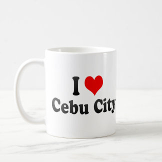 I Love Cebu City, Philippines Basic White Mug