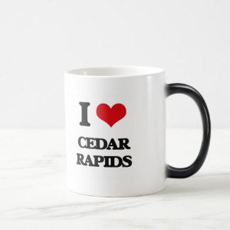 I love Cedar Rapids Morphing Mug