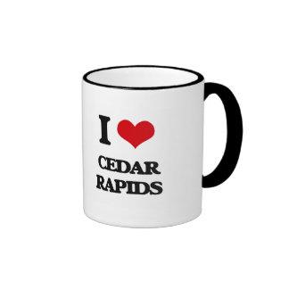 I love Cedar Rapids Ringer Mug