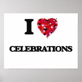 I love Celebrations Poster