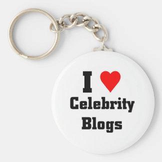 I love Celebrity Blogs Keychain