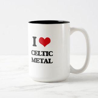 I Love CELTIC METAL Mug