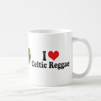 I Love Celtic Reggae Coffee Mugs