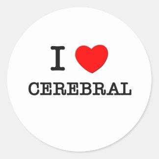 I Love Cerebral Sticker