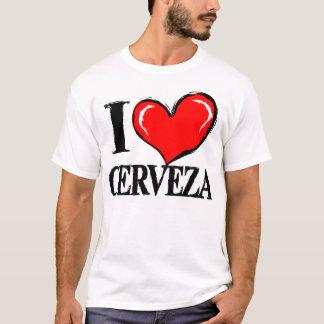 I Love Cerveza (Beer) T-Shirt