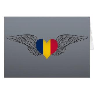 I Love Chad -wings Card