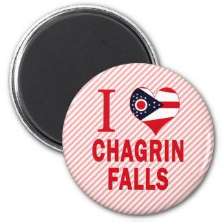 I love Chagrin Falls, Ohio Fridge Magnets