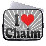 I love Chaim Computer Sleeve