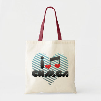 I Love Chalga Budget Tote Bag